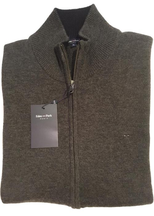 Full Zip Cardigan (Charcoal)