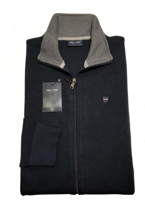 Full Zip Sweatshirt (Navy)