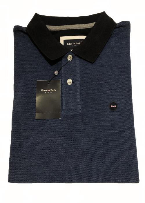 Oxford Polo Shirt (Dark Blue)