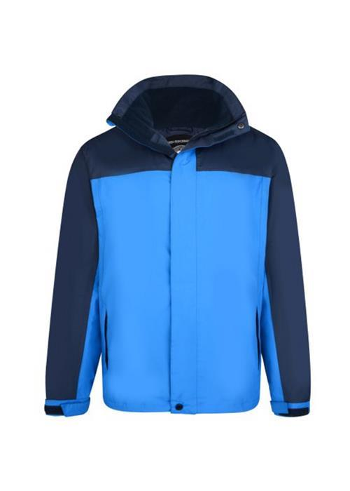 KAM LIGHTWEIGHT WATERPROOF COAT (BLUE)