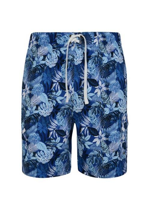 KAM FLORAL SWIM SHORTS (BLUE)