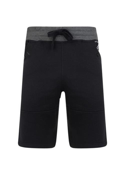 KAM LEISURE SHORT (BLACK)