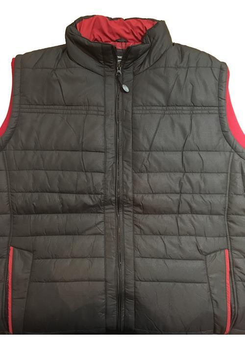 KAM Kam Quilted Body Warmer (Black)