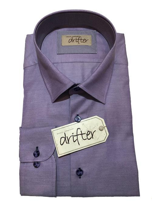 Douglas LONG SLEEVE OXFORD SHIRT (LILAC)