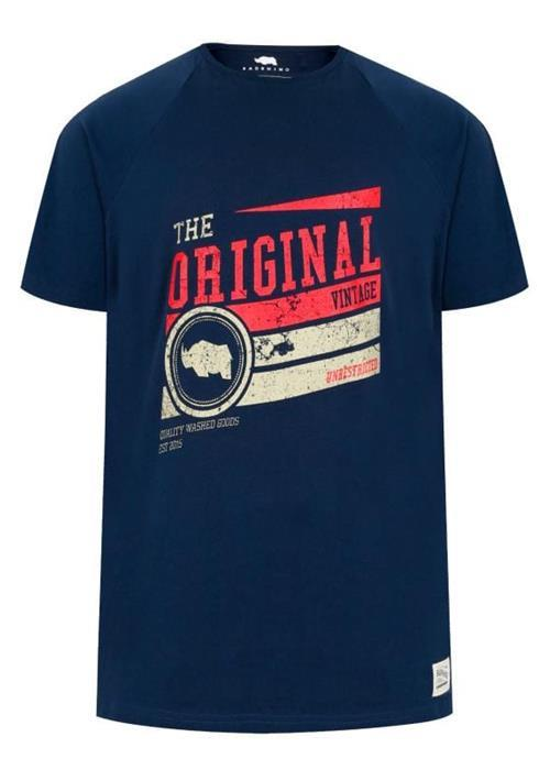 Bad Rhino Vintage T-Shirt (Navy)