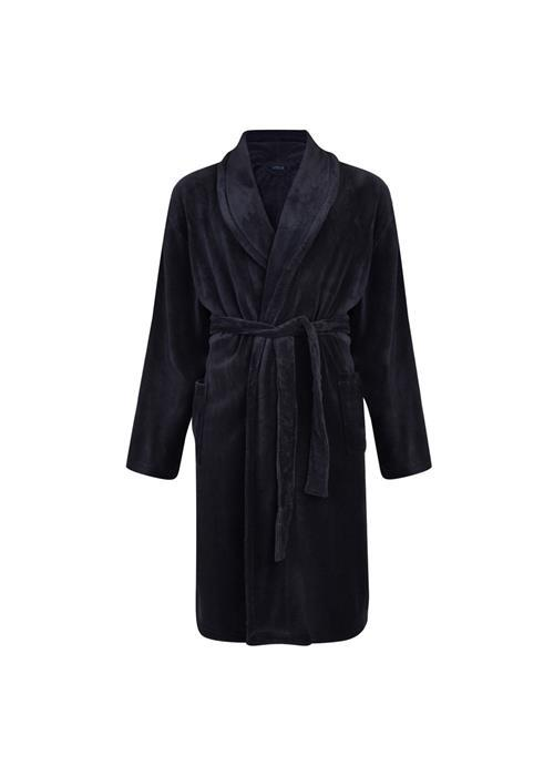 Espionage Fleece Dressing Gown (Navy)