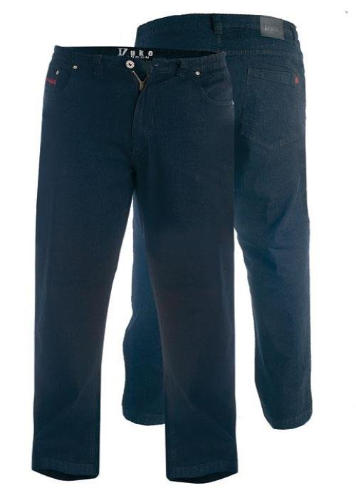 Duke Comfort Fit Stretch Jeans With Elasticated Waist (Balfour)