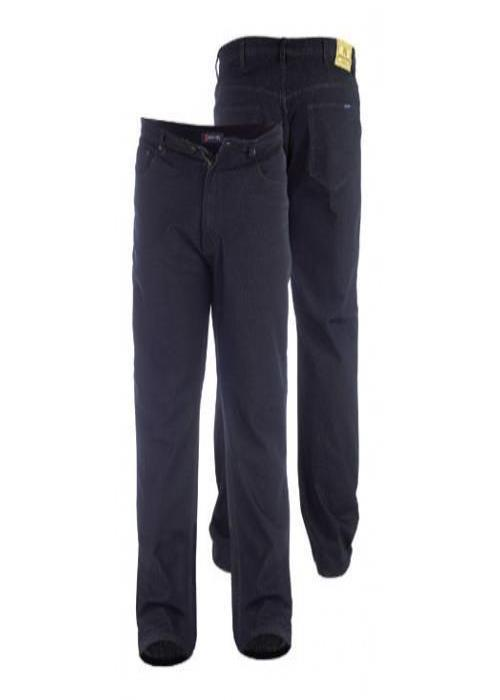 Duke Rockford Comfort Fit Jean (Black)
