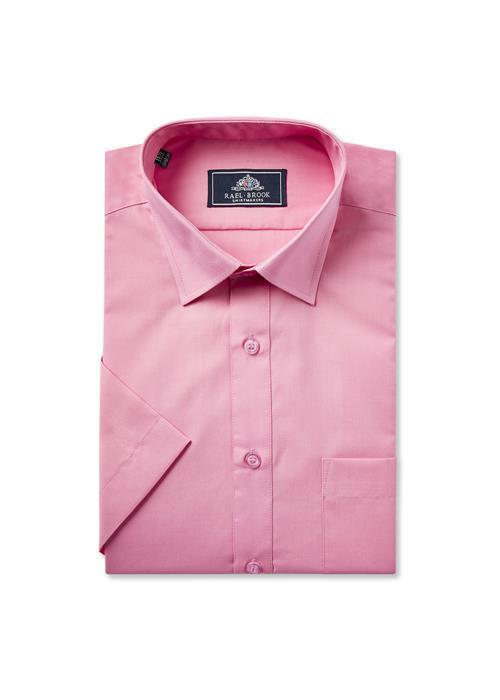 Rael Brook Short Sleeve Shirt (Rose Pink)