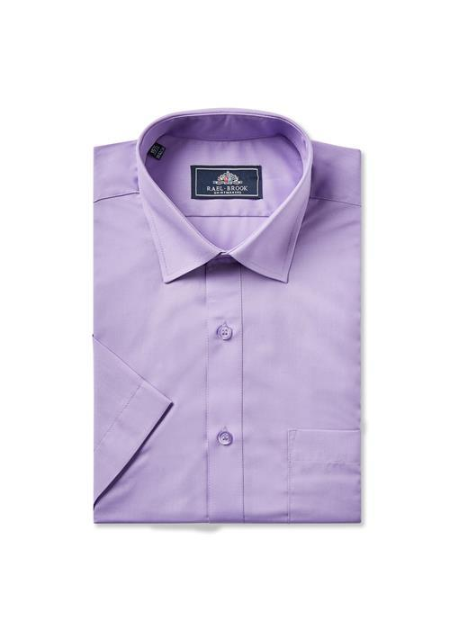 Rael Brook Short Sleeve Shirt (Purple)