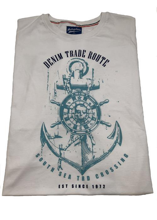 Cotton Valley / Metaphor Trade Route T-Shirt (White)