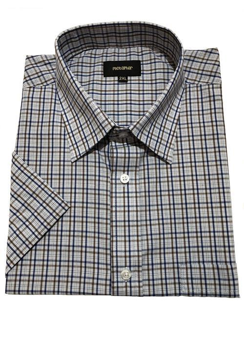 Cotton Valley / Metaphor Neat Check Short Sleeve Shirt