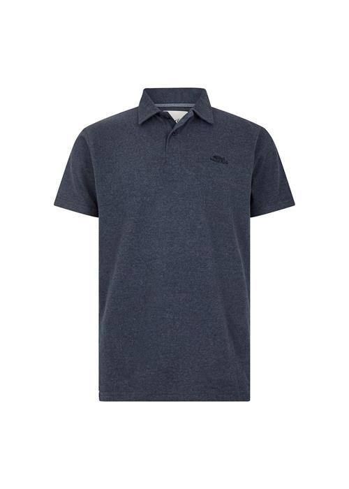 Weird Fish Quay Branded Polo (Navy Marl)