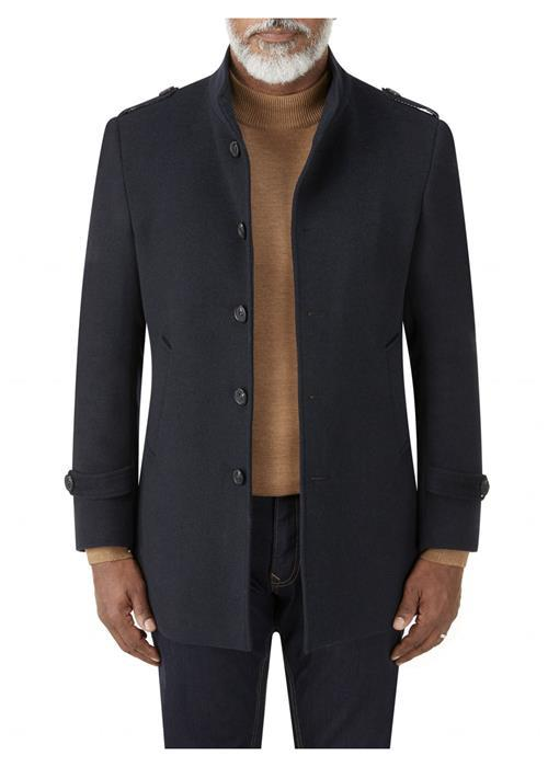 Skopes Holland Overcoat (Charcoal)