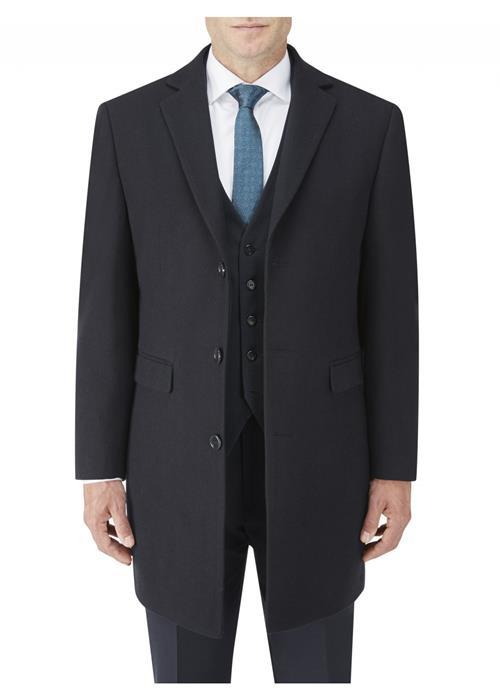Skopes Baker Overcoat (Navy)