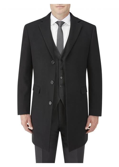 Skopes Baker Overcoat (Black)