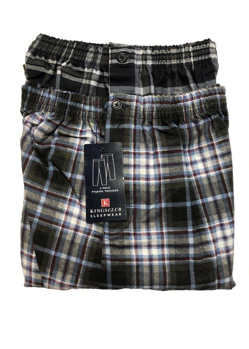 Cotton Valley / Metaphor Twin Pack Brushed Cotton Lounge / Pyjama Pants