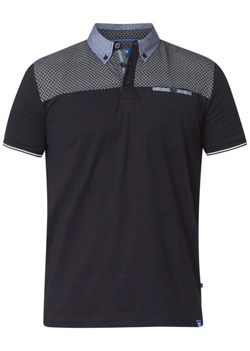 Duke Brent Polo Shirt (Black)