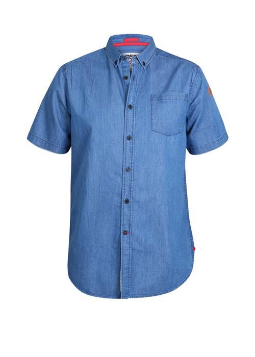 Duke Arnold Short Sleeve Lightweight Denim Shirt