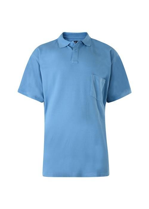 KAM Basics Polo (Powder Blue)