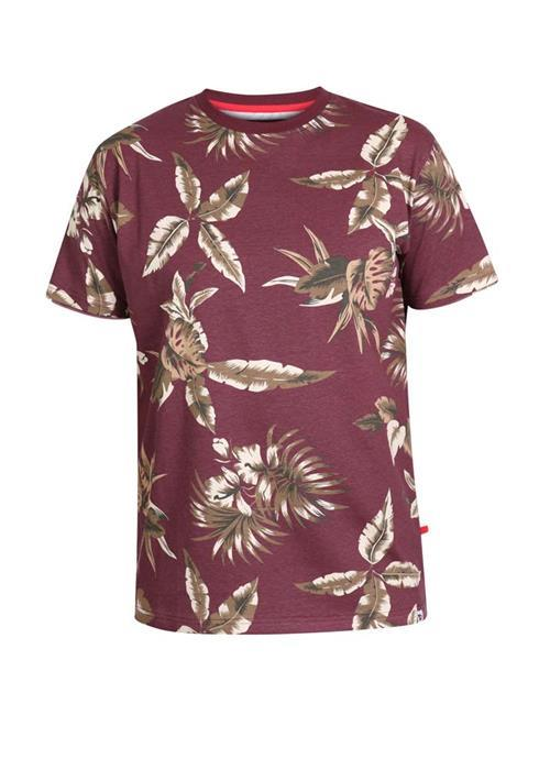 Duke Baxter Patterned T-Shirt