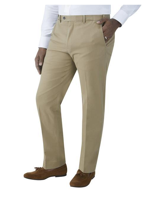 Skopes Antibes Tailored Fit Stretch Chino (Stone)