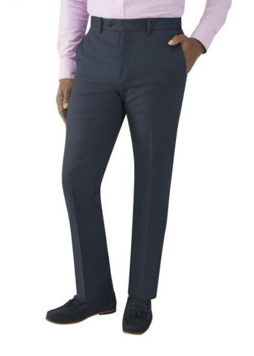 Skopes Antibes Tailored Fit Stretch Chino (Navy)