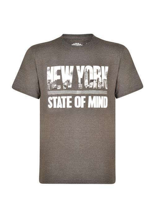 KAM NY State of Mind Tee (Charcoal)
