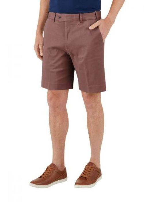 Skopes Biarritz Stretch Tailored Chino Short (Mink)