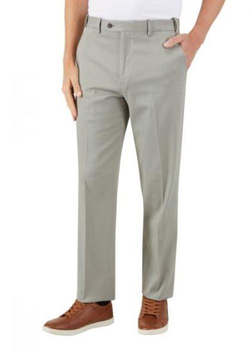Skopes Antibes Tailored Fit Stretch Chino (Sage)