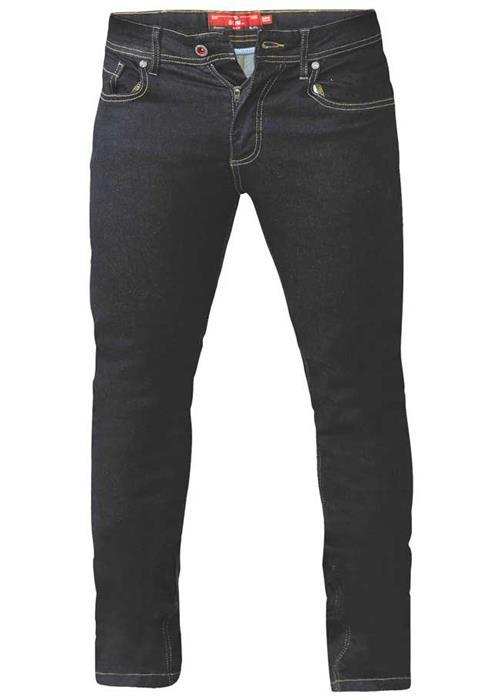 Duke Cedric Tapered Leg Stretch Jeans (Indigo)