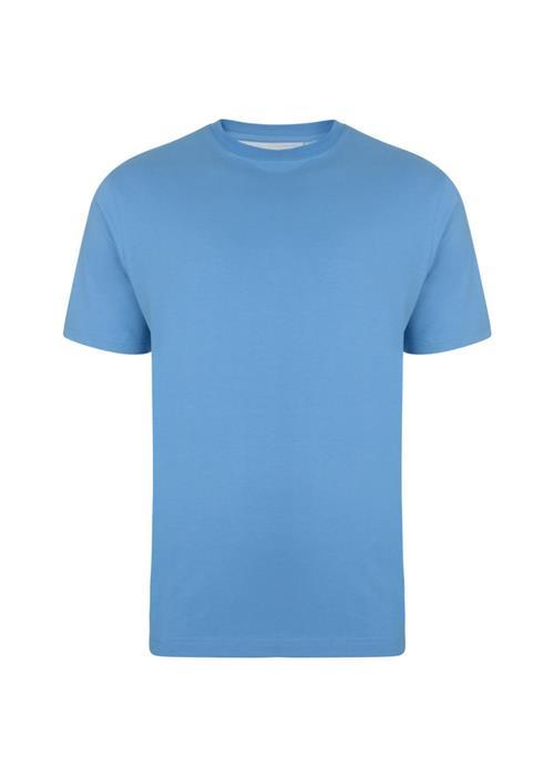 KAM Basics Crew Neck T-Shirt (Powder Blue)