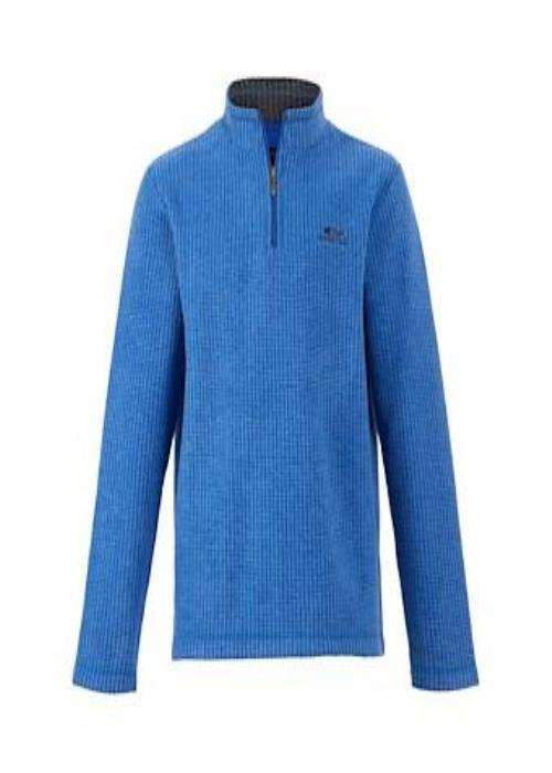 Weird Fish Newark 1/4 Zip (True Blue)