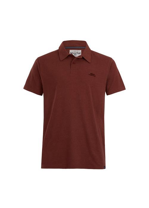 Weird Fish Quay Jersey Polo Shirt (Nut)