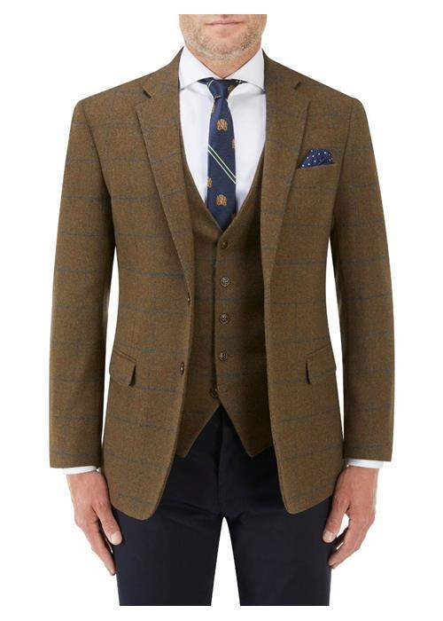 Skopes Murtagh Tweed Jacket / Blazer (Rust)