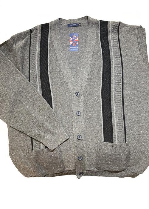 Cotton Valley / Metaphor Classic Button Cardigan (Grey)