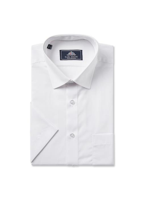 Rael Brook Short Sleeve Shirt (White)