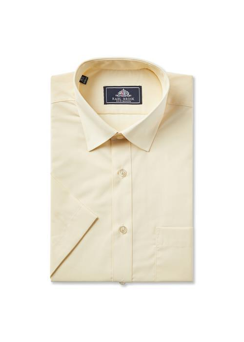 Rael Brook Short Sleeve Shirt (Lemon)