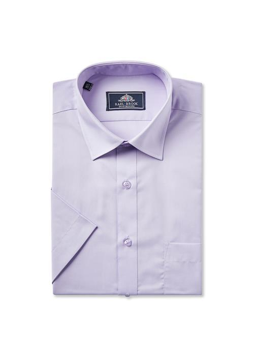 Rael Brook Short Sleeve Shirt (Lilac)