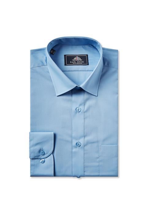 Rael Brook Long Sleeve Shirt (MidBlue)
