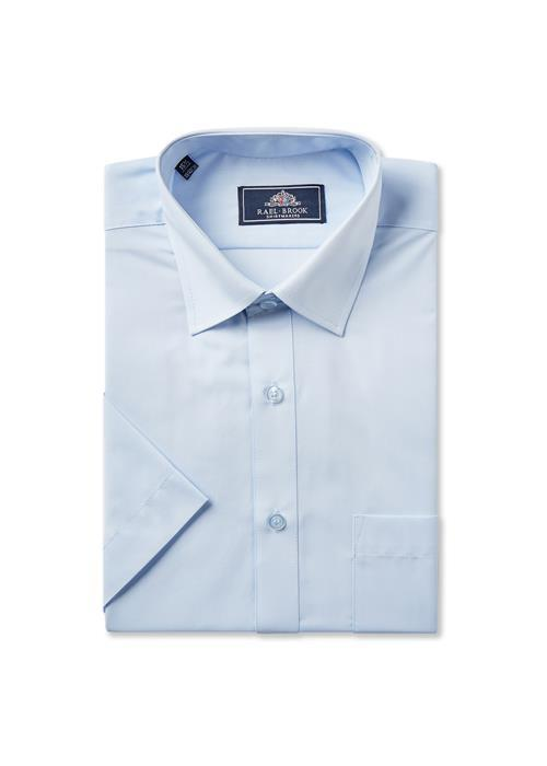 Rael Brook Short Sleeve Shirt (Light Blue)