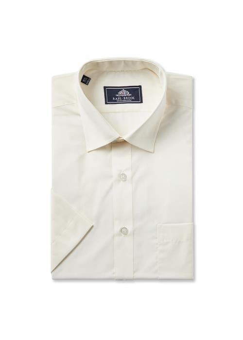 Rael Brook Short Sleeve Shirt (Ecru)