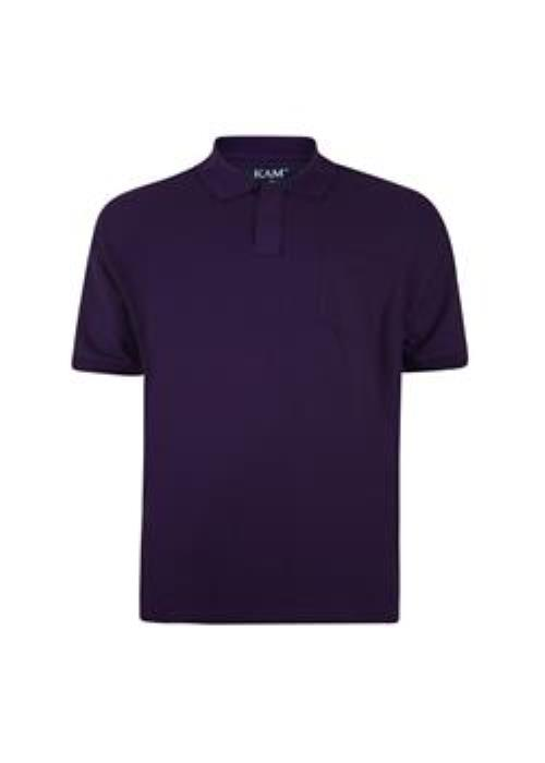 KAM Basics Polo (Purple)