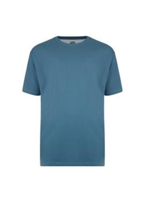 KAM Basics Crew Neck T-Shirt (Denim)