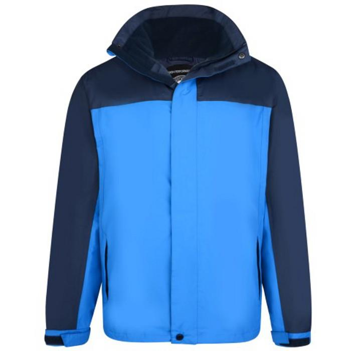 lightweight waterproof coat (blue)