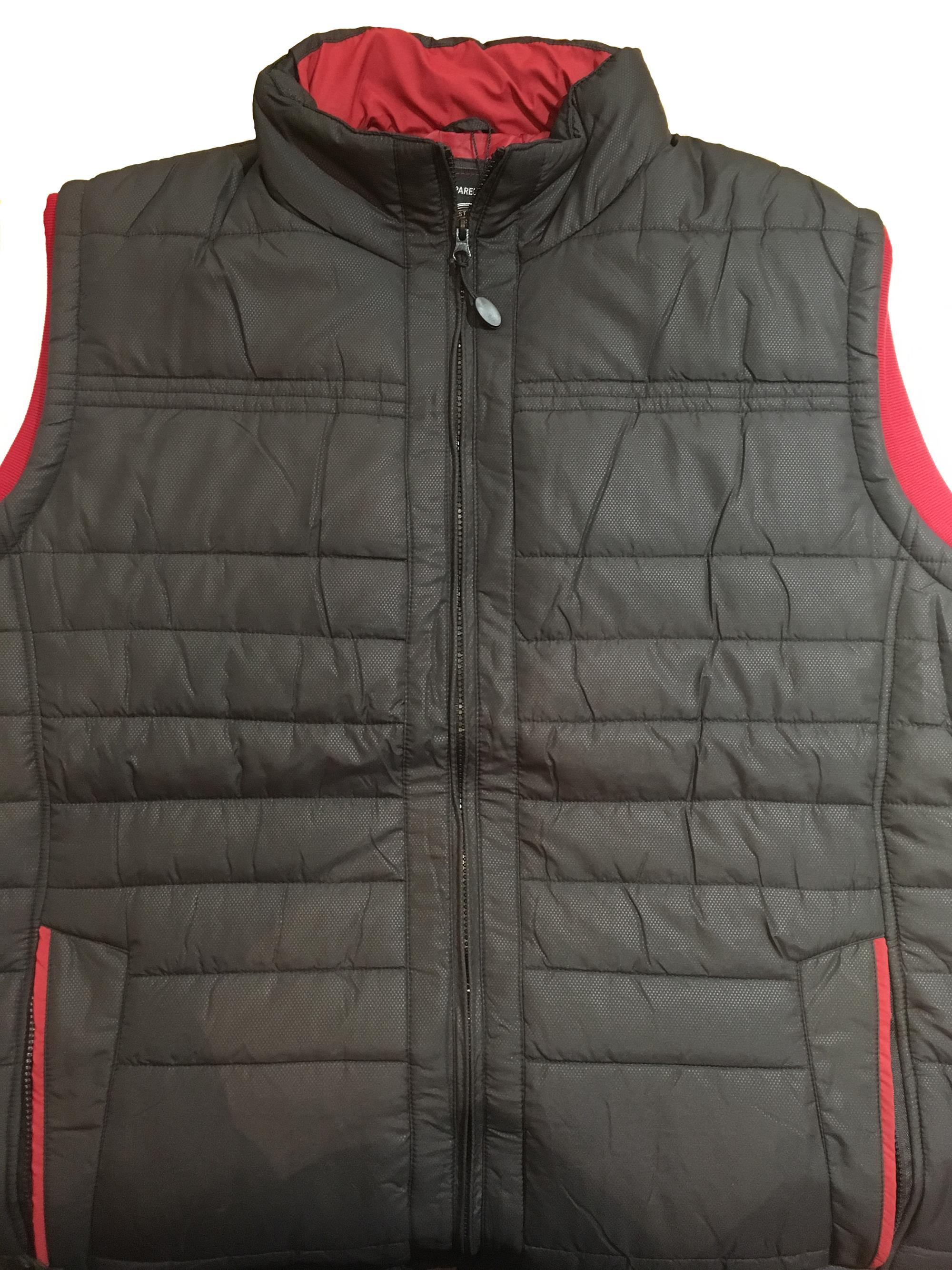 kam quilted body warmer (black)