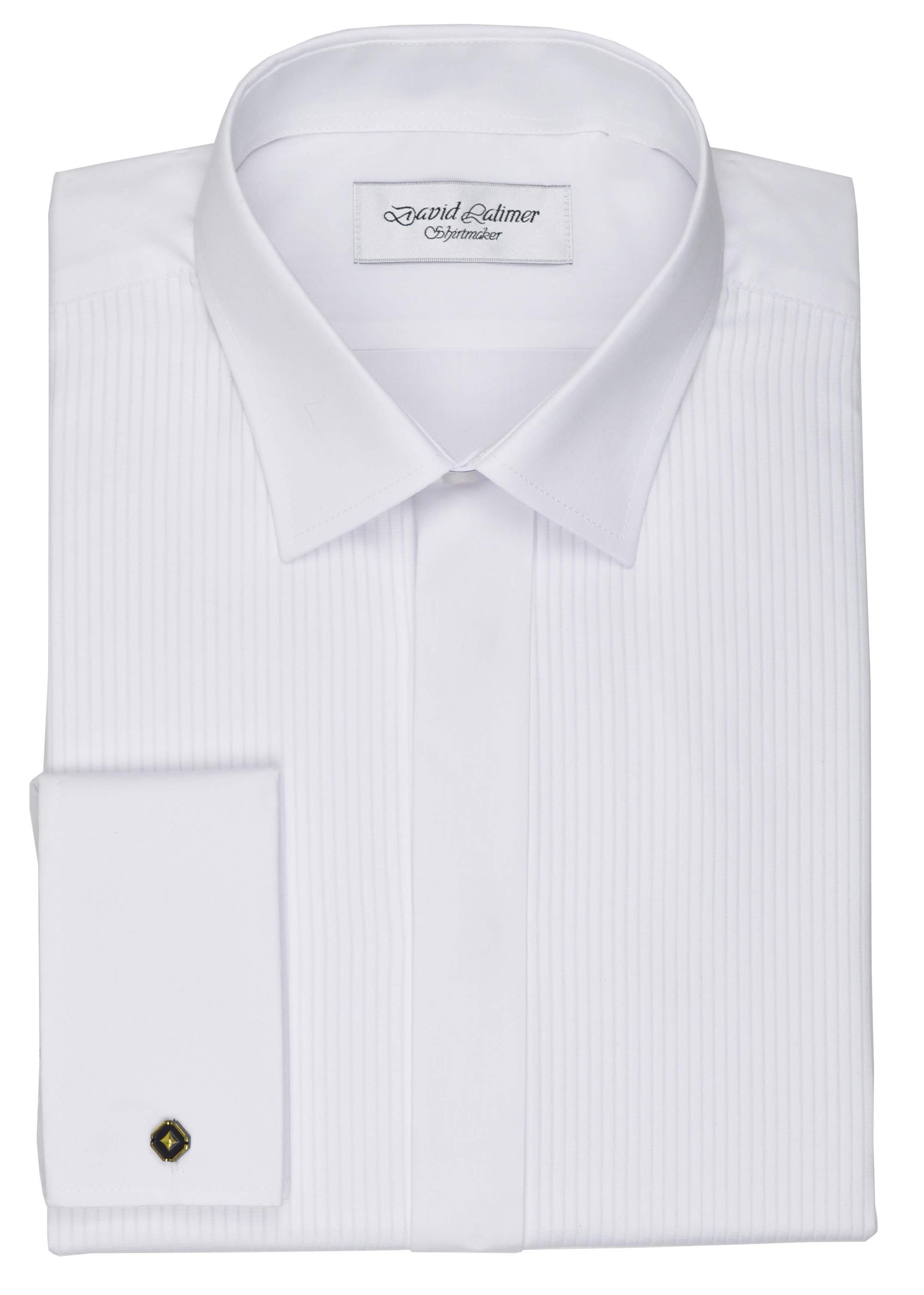 standard collar evening dress shirt