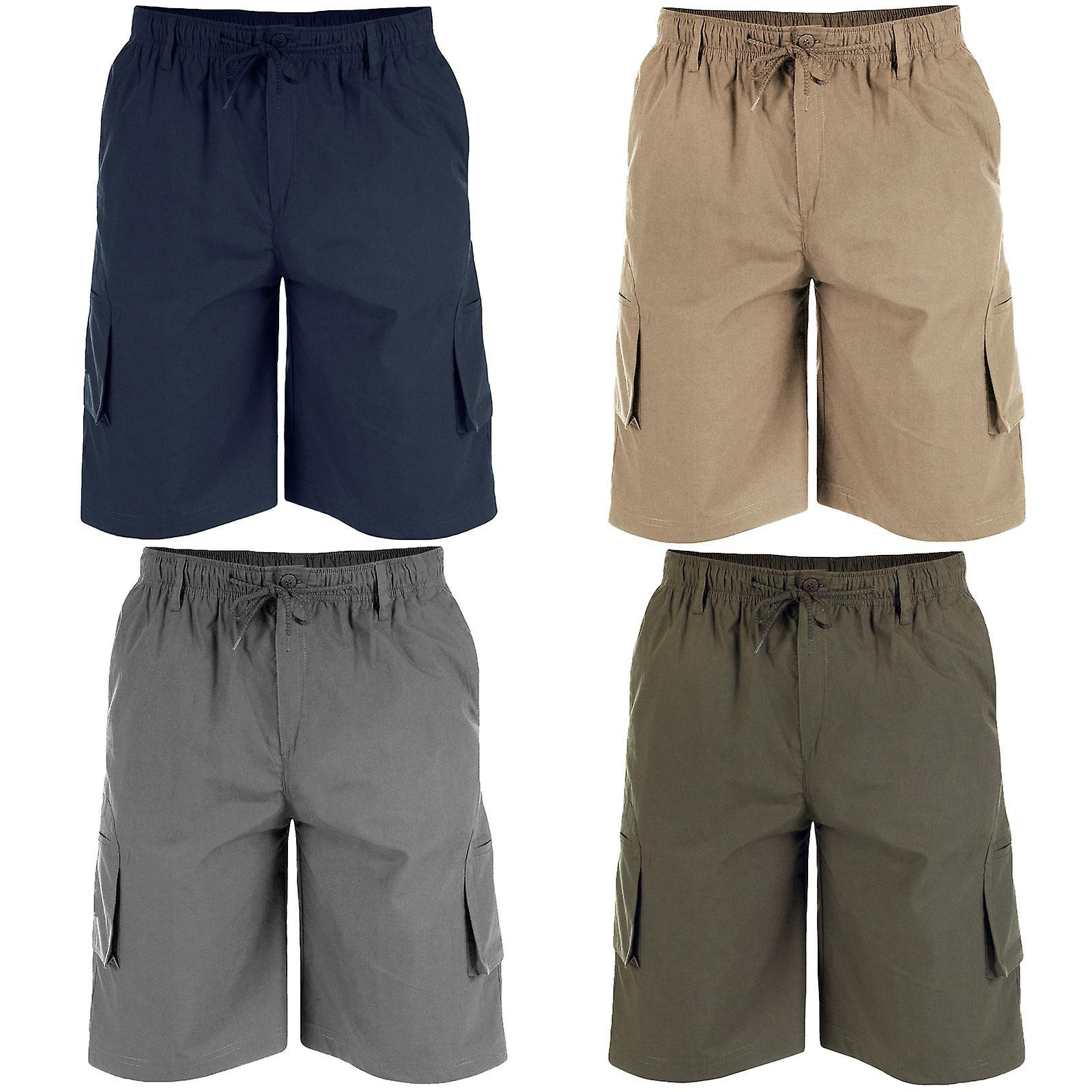 nick cargo shorts (navy)