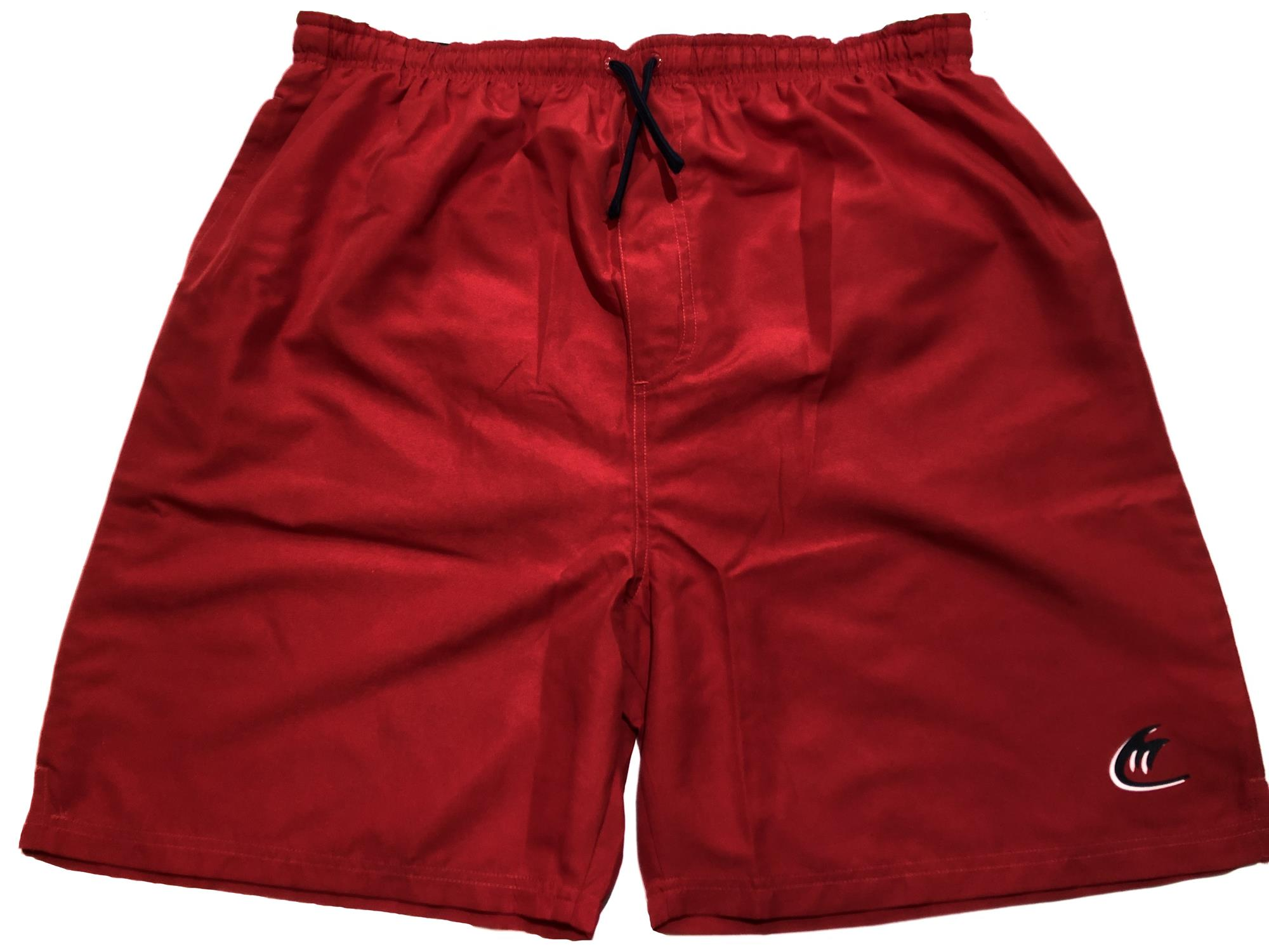 water / swim shorts (red)