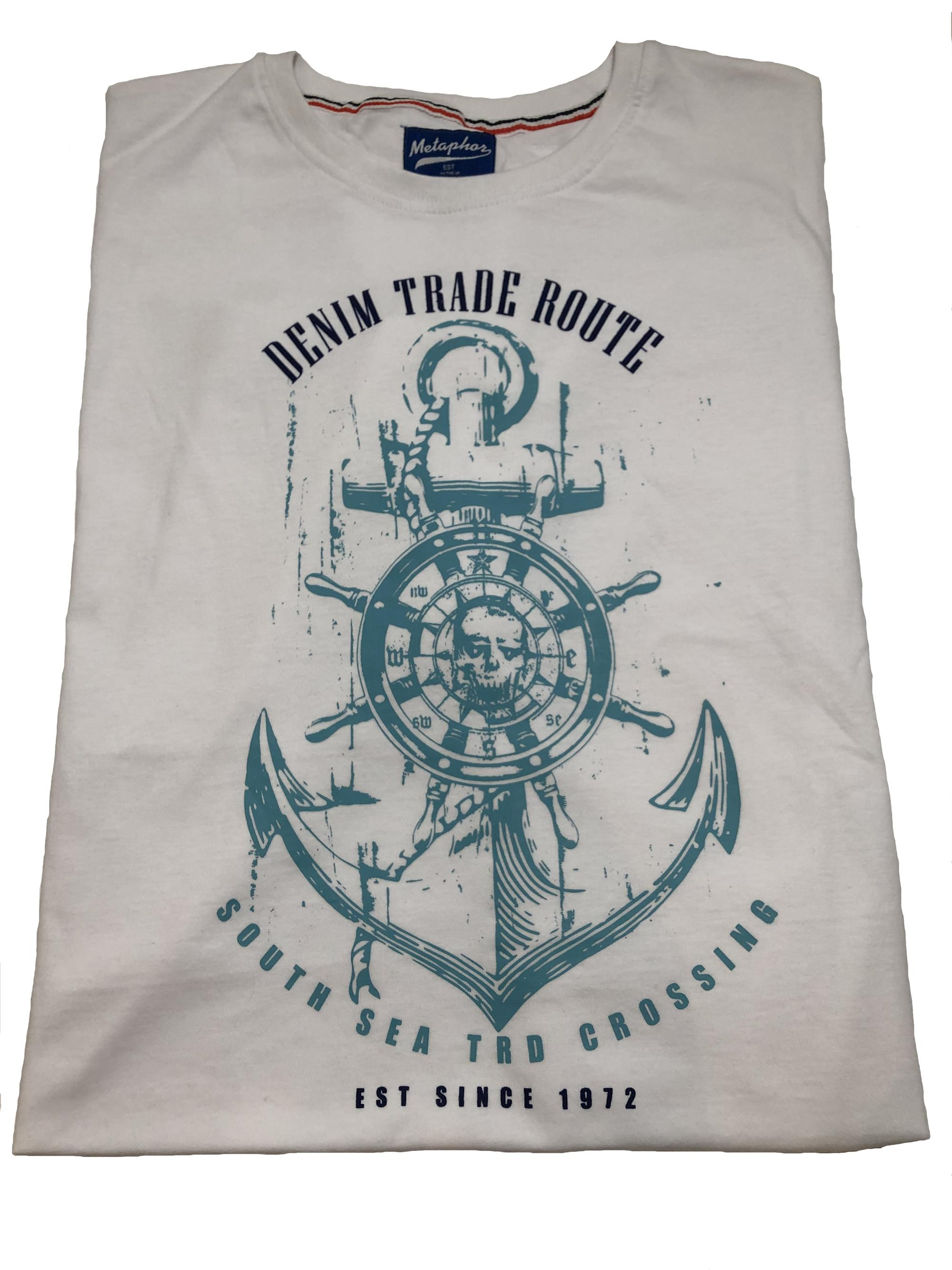 trade route t-shirt (white)